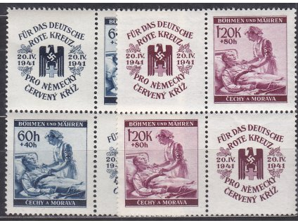 60h-1.20K ČK II, 4bloky, VK-19, Nr.52-3, **