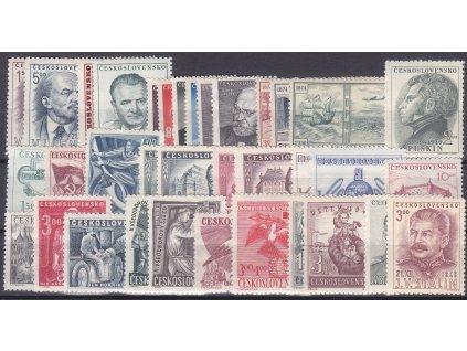 1949, kompletní ročník známek, **, ilustrační foto