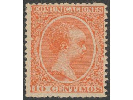 1889, 10C Alfons, MiNr.191, **