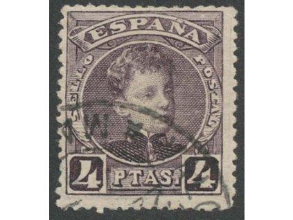 1901, 4 Pta Alfons, MiNr.216, razítkované