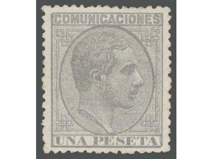 1878, 4 Pta Alfons, MiNr.173, * po nálepce