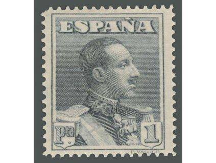 1924, 1 Pta Alfons, MiNr.294C, * po nálepce