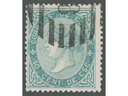1867, 10C Isabella, MiNr.84, razítkované