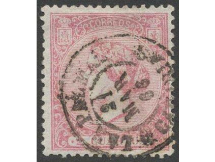1866, 2 Cs Isabella, MiNr.73, razítkované