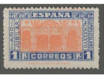 1937, 1 Pta sv. Jakub, MiNr.784, * po nálepce