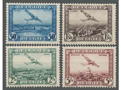 1930, 50C-5Fr letecká série, MiNr.280-83, * po nálepce