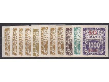 5-1000h doplatní série, Nr.SO33-43, **, ilustrační foto