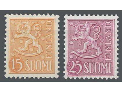 1956/59, 15 a 25M Znak, MiNr.458,502, **
