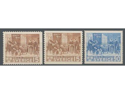 1941, 15-90 Ö série Reformace, MiNr.281-82, **