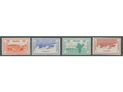 1933, 10-50A série Výjevy, MiNr.168-71, **