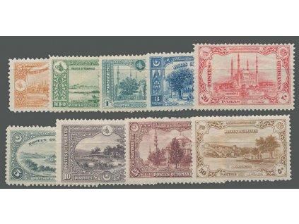 1920, 5Pa-50Pia série Výjevy, MiNr.676-84, * po nálepce, dv