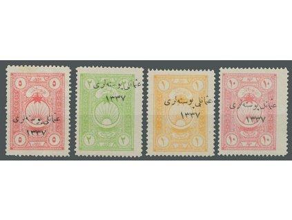 1921, (10) Pa - (5) PIa série, MiNr.749-52, těžší * , dv
