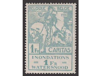 1926, 1 Fr Lüttich, MiNr.208, **