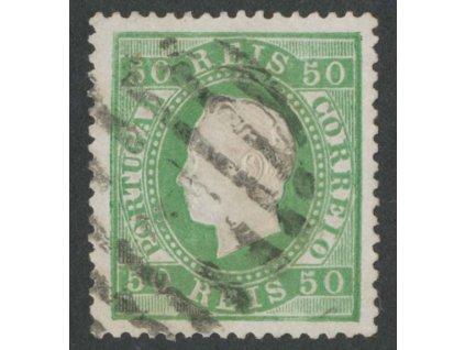 1870, 50 R Luis, MiNr.39xC, razítkované