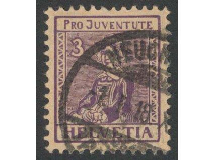1917, 3 C Kroje, MiNr.133, razítkované