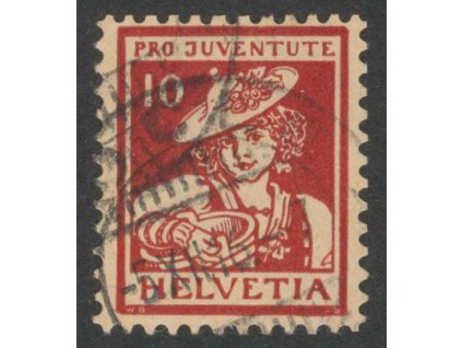 1916, 10 C Kroje, MiNr.132, razítkované