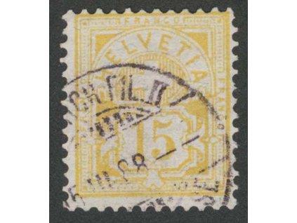 1882, 15 C Znak, MiNr.56, razítkované, dv