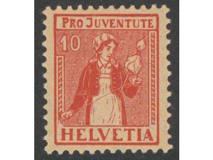 1917, 10 C Kroje, MiNr.135, **