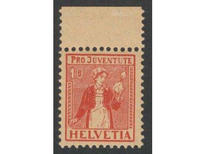 1917, 10 C Kroje, MiNr.135, ** , * na okraji
