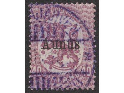 1919, Aunus, 50 P Znak, MiNr.5, razítkované