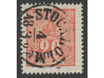 1866, 20 Ö Znak, MiNr.16, razítkované