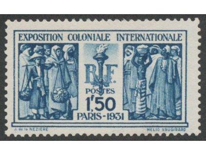 1931, 1.50 Fr Výstavní, MiNr.262, **