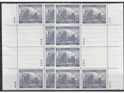 1939, 4K Ostrava, podkovy, L+P, varianta 3 hvězdičky, Nr.37, **