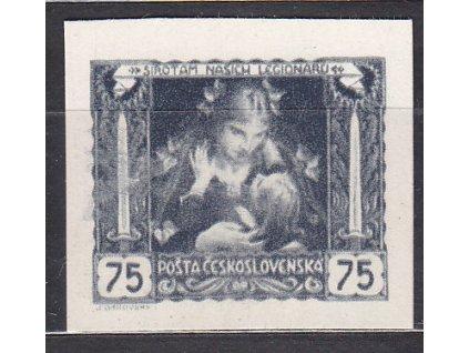 75h šedozelená, nezoubkovaná, silný kartonový papír, Nr.30N, bez lepu