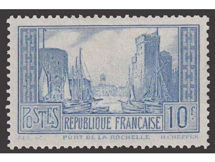 1929, 10 Fr Přístav, MiNr.241, * po nálepce