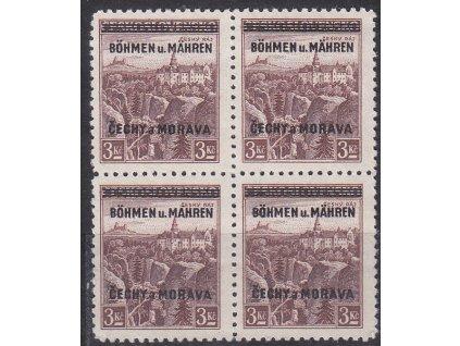 3Kč Český ráj, 4blok, Nr.16, **, ilustrační foto