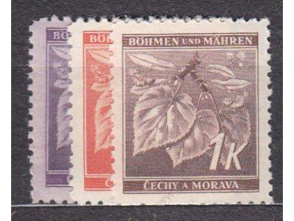 1941, 60h-1K Ratolest II, série, Nr.54-6, **