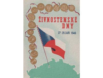 1948, Praha, 30. let Československé republiky, pohlednice