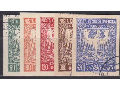 60-420h série, olomoucké vydání, razítkované, ilustrační foto