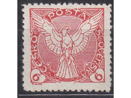 6h červená, ministr. Řz.11 1/2, Nr.NV3, * po nálepce, ilustrační foto