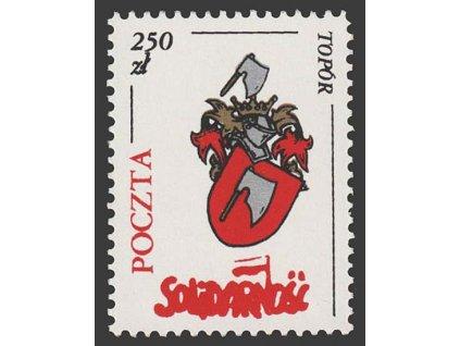 1985, 250 Zl Znak, Solidarnošč, **