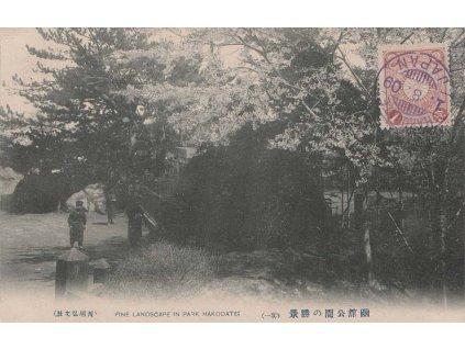 Japonsko, 1909, pohlednice vyfr. zn. 1 Sn, neprošlé