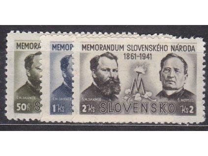 1941, 50h-2Ks Memorandum, série, Nr.56-8, **