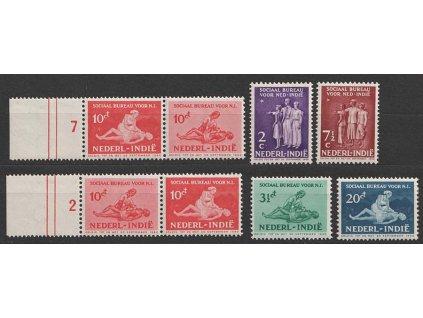 Indie, 1939, 2-20 Ct série Sociální pomoc včetně spojek, **/*