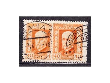 40h neotypie, pr.2 a 3 - pergamenový papír, Nr.187x, razítkované, ilustrační foto