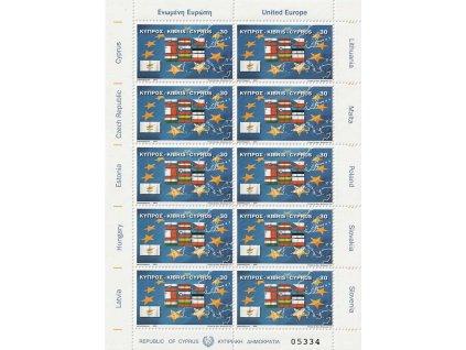 2004, PL - Deset nových členů EU, Kypr, kat. 750Kč, **