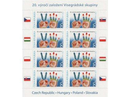 2011, PL - Visegrádská skupina, ČR, **