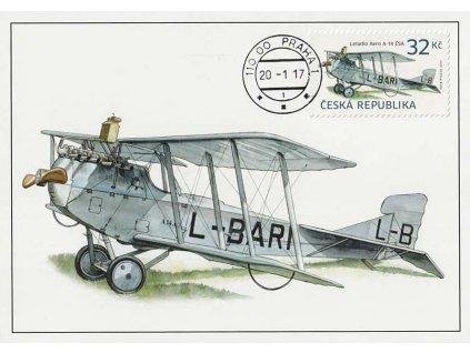 CM 122 Letadlo AERO A-14 ČSA
