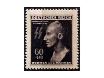 1943, 60h Heydrich, DV - vajíčko, Nr.111DV2, **