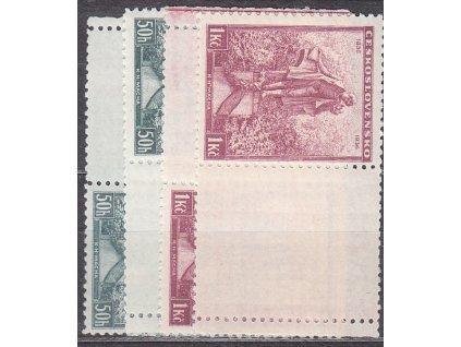 50h-1Kč Mácha, L+P kupony, Nr.298-9, **