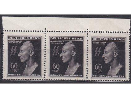 60h Heydrich, kraj. 3páska s DV na ZP4 - ryska