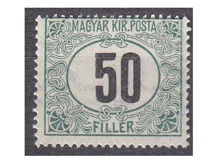 50f Doplatní - černé číslo, **, zn. platná v ČSR, ilustrační foto