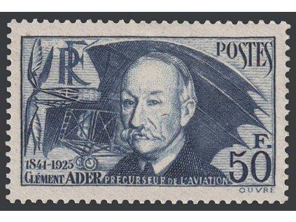 1938, 50 Fr Ader, MiNr.425, * po nálepce