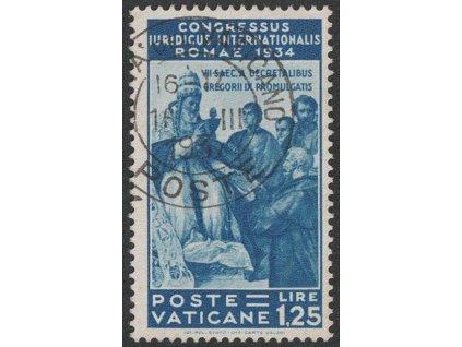 1935, 1.25 L Kongres, MiNr.50, razítkované