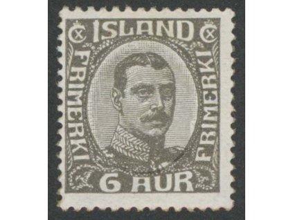 1920, 6 A Christian, MiNr.87, * po nálepce