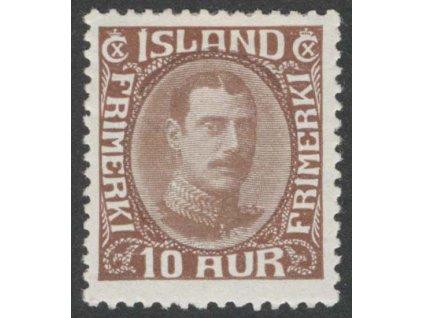 1931, 10 A Christian, MiNr.161, těžší *